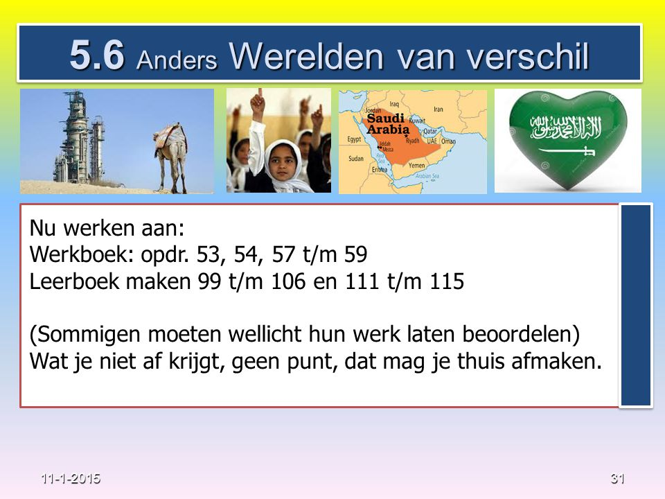 5.6 Anders Werelden van verschil