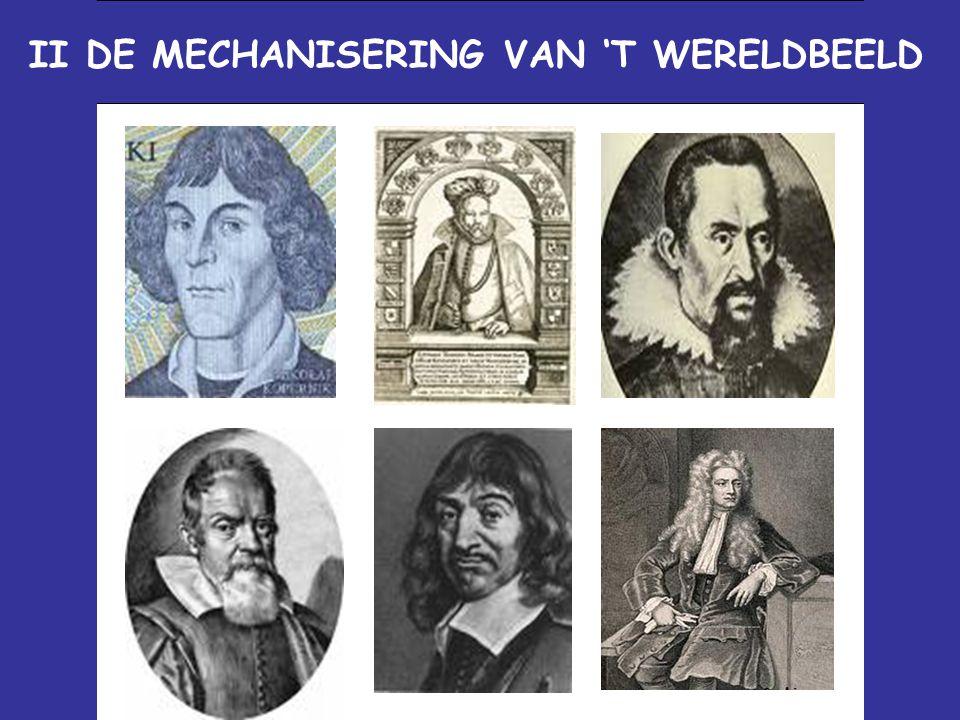 II DE MECHANISERING VAN 'T WERELDBEELD