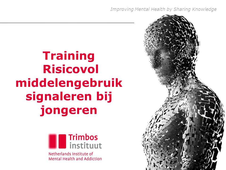 Training Risicovol middelengebruik signaleren bij jongeren