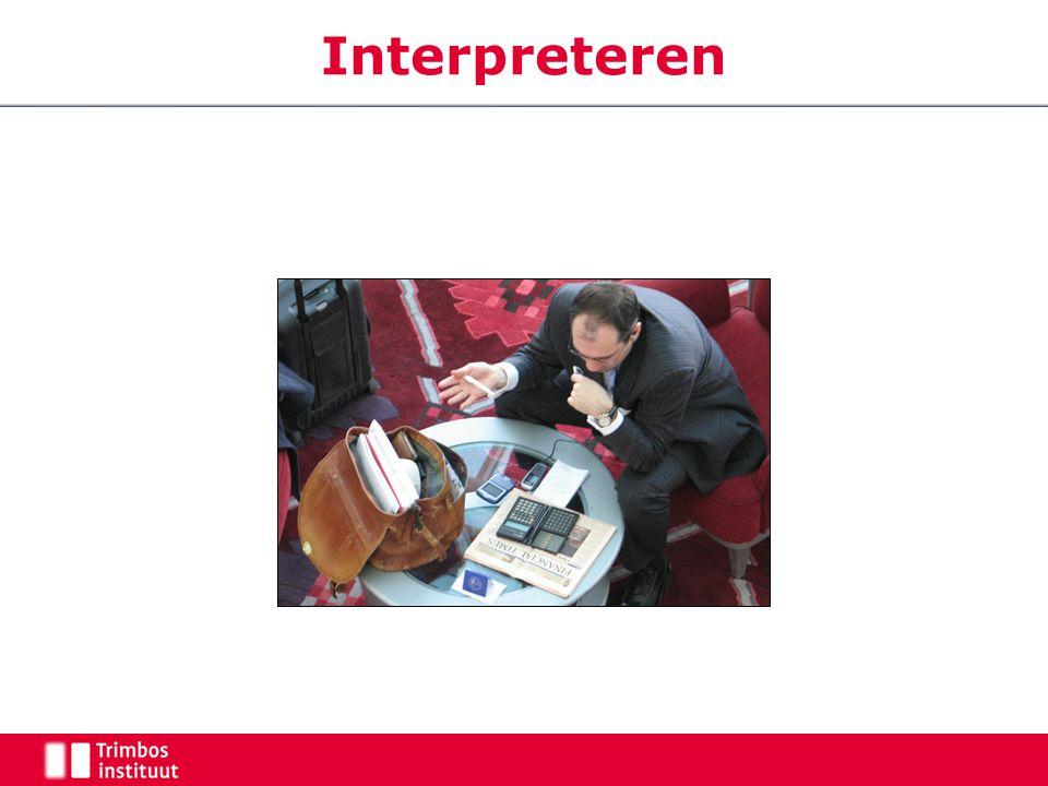 Interpreteren Wat ziet u Een drukke zakenman… met superdeal of zo