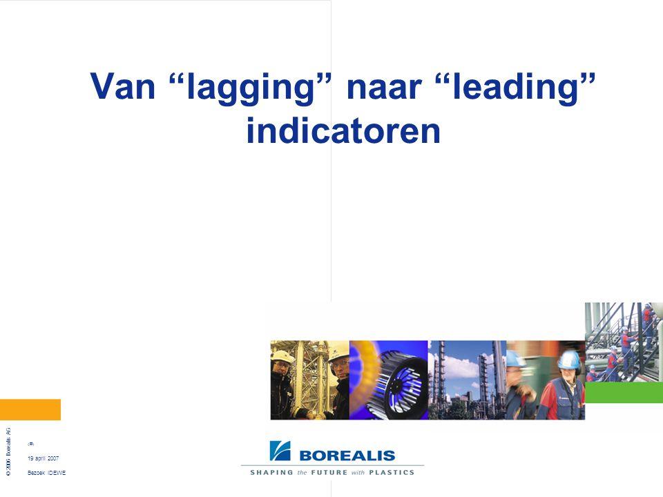 Van lagging naar leading indicatoren
