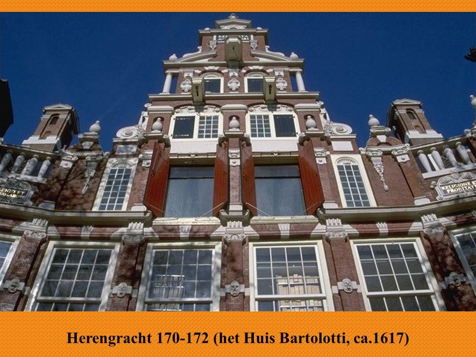 Herengracht 170-172 (het Huis Bartolotti, ca.1617)
