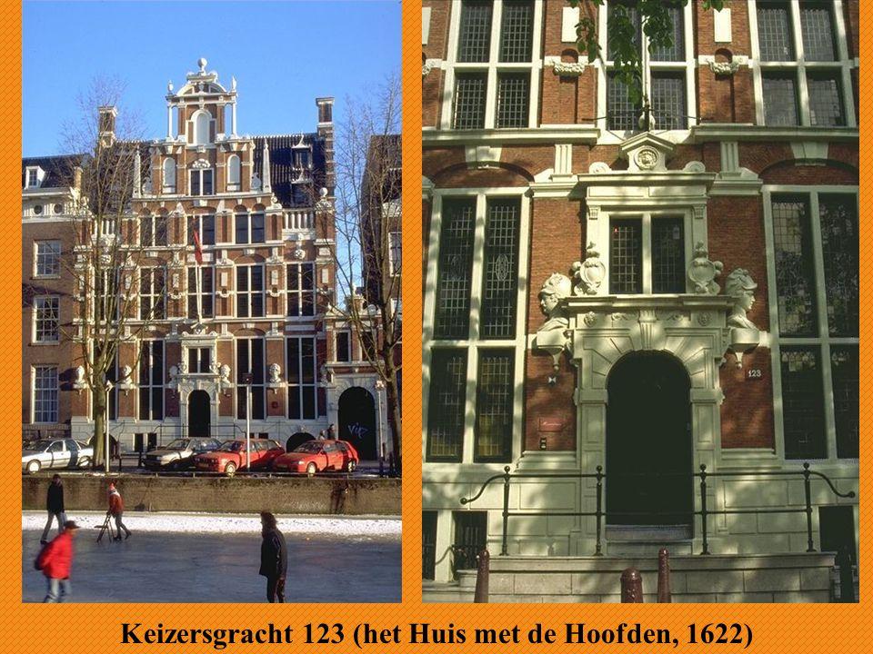 Keizersgracht 123 (het Huis met de Hoofden, 1622)