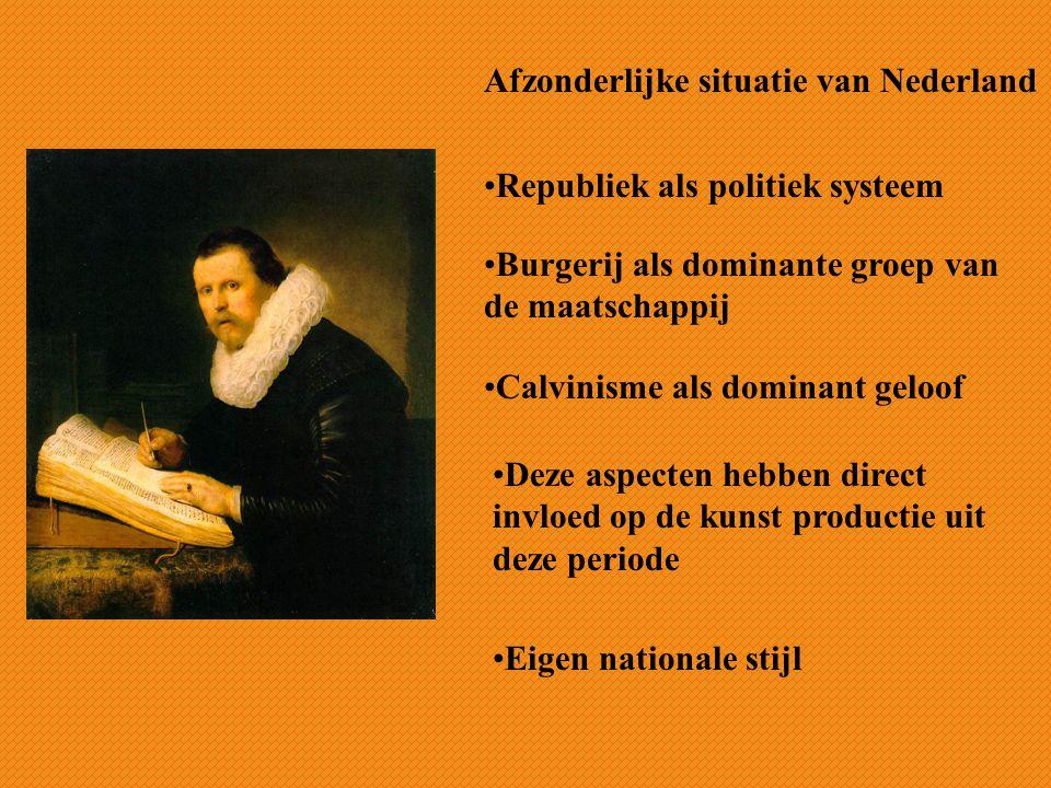 Afzonderlijke situatie van Nederland