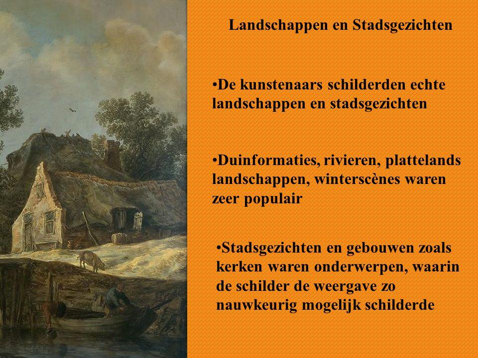 Landschappen en Stadsgezichten