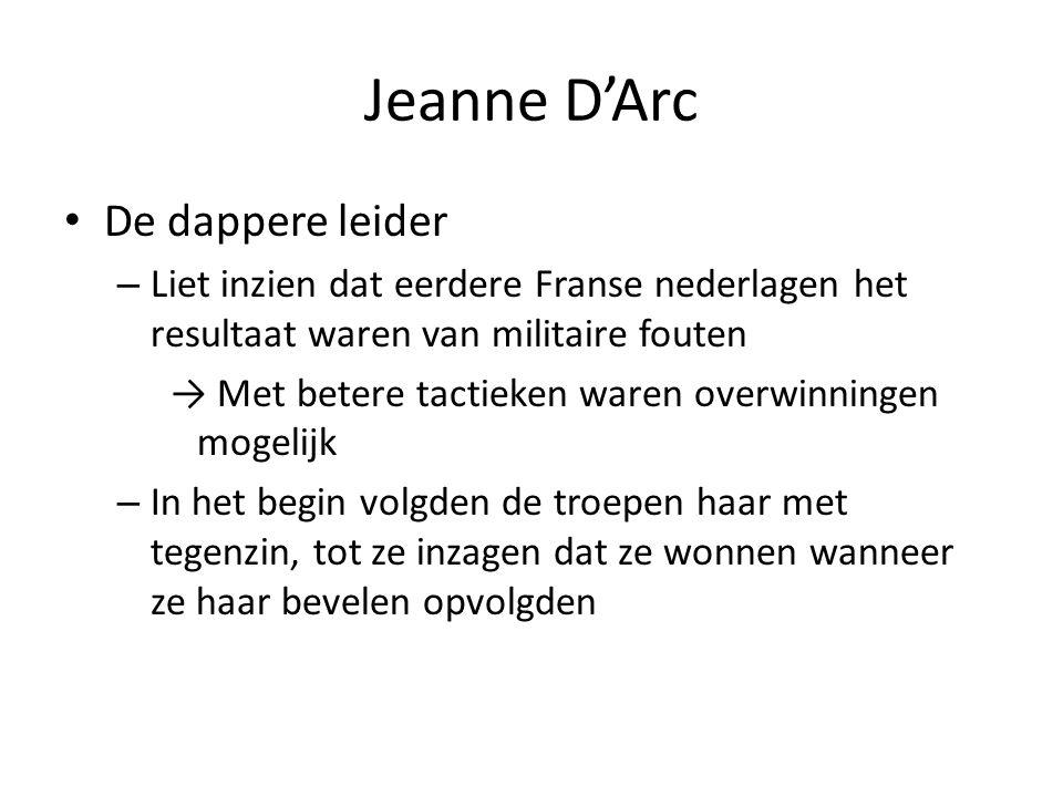 Jeanne D'Arc De dappere leider