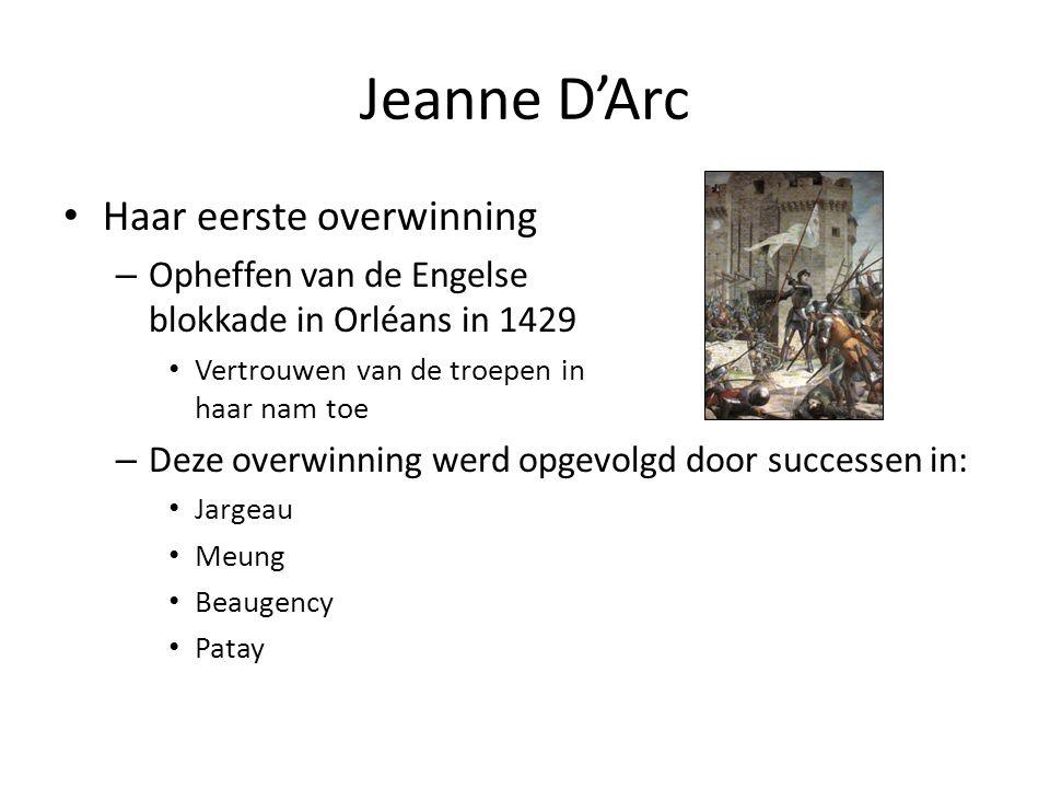 Jeanne D'Arc Haar eerste overwinning