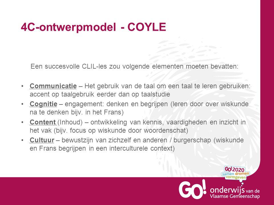 4C-ontwerpmodel - COYLE