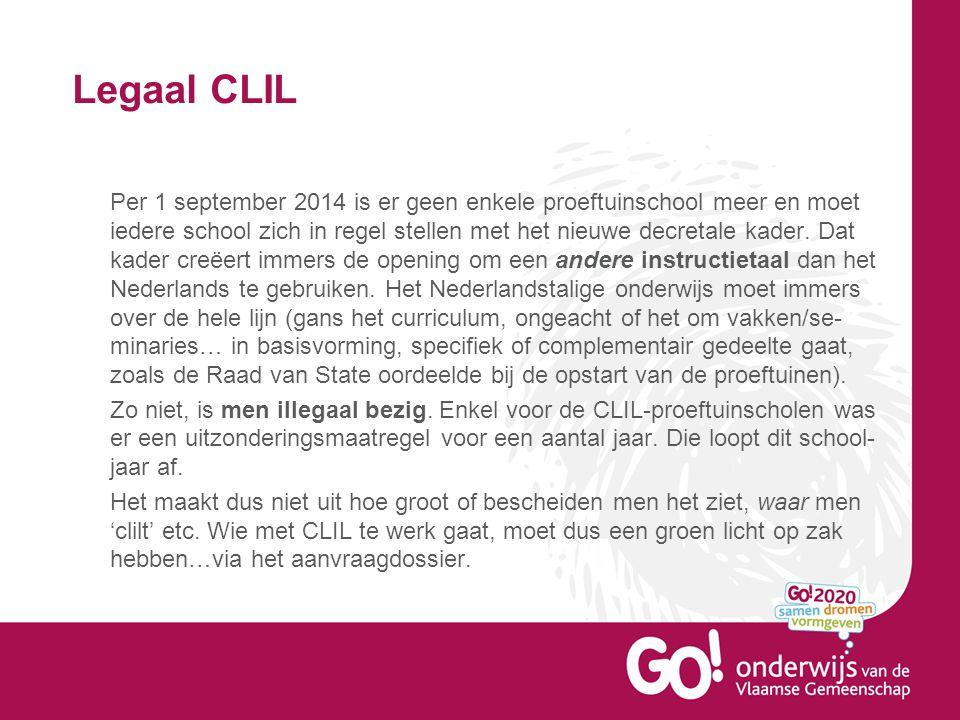Legaal CLIL