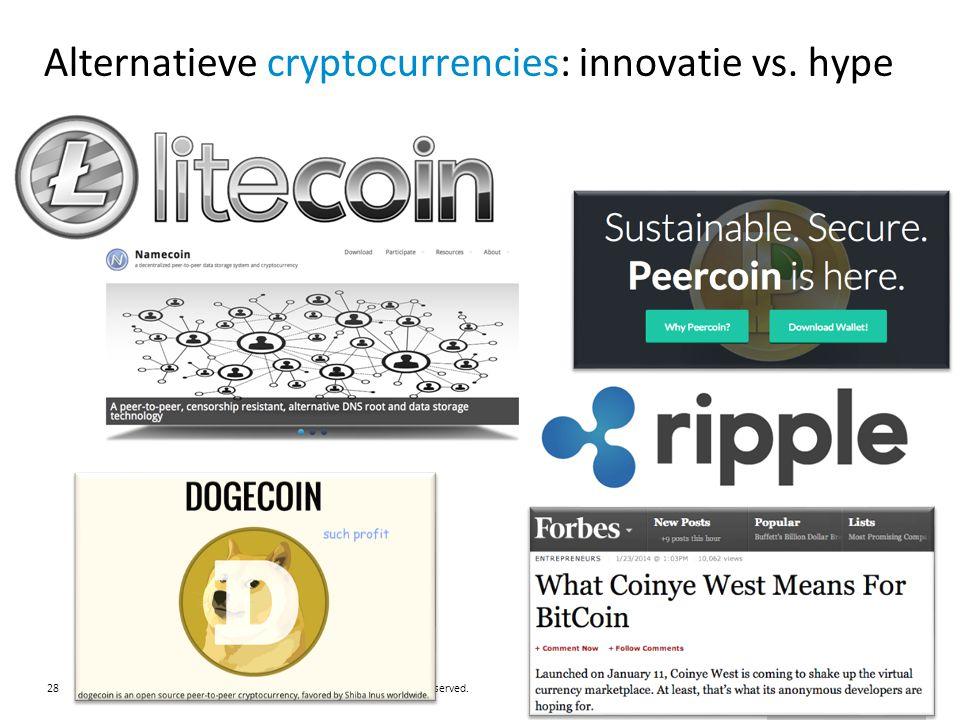 Alternatieve cryptocurrencies: innovatie vs. hype