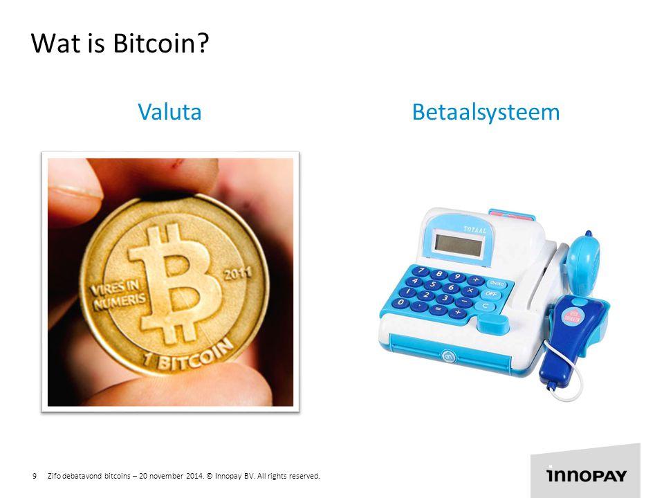 Wat is Bitcoin Valuta Betaalsysteem