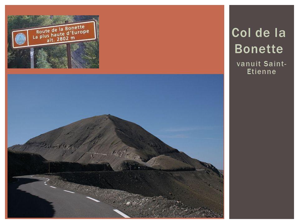Col de la Bonette vanuit Saint-Etienne