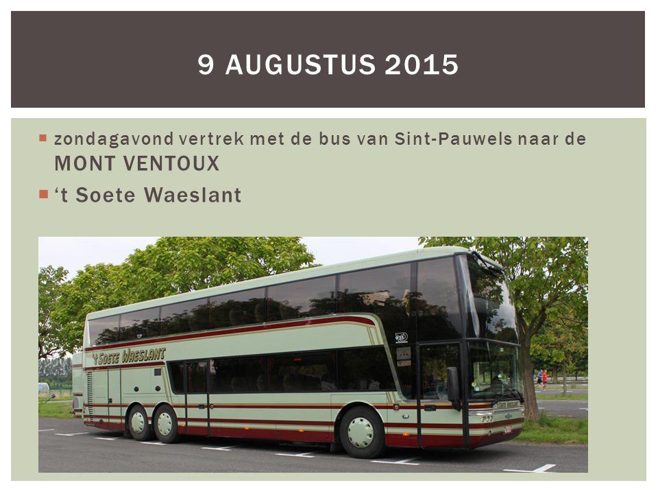 9 augustus 2015 't Soete Waeslant
