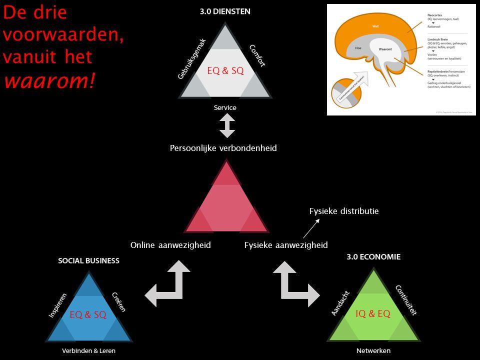 De drie voorwaarden, vanuit het waarom!
