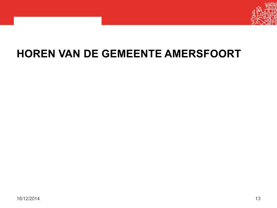 Horen van de gemeente Amersfoort