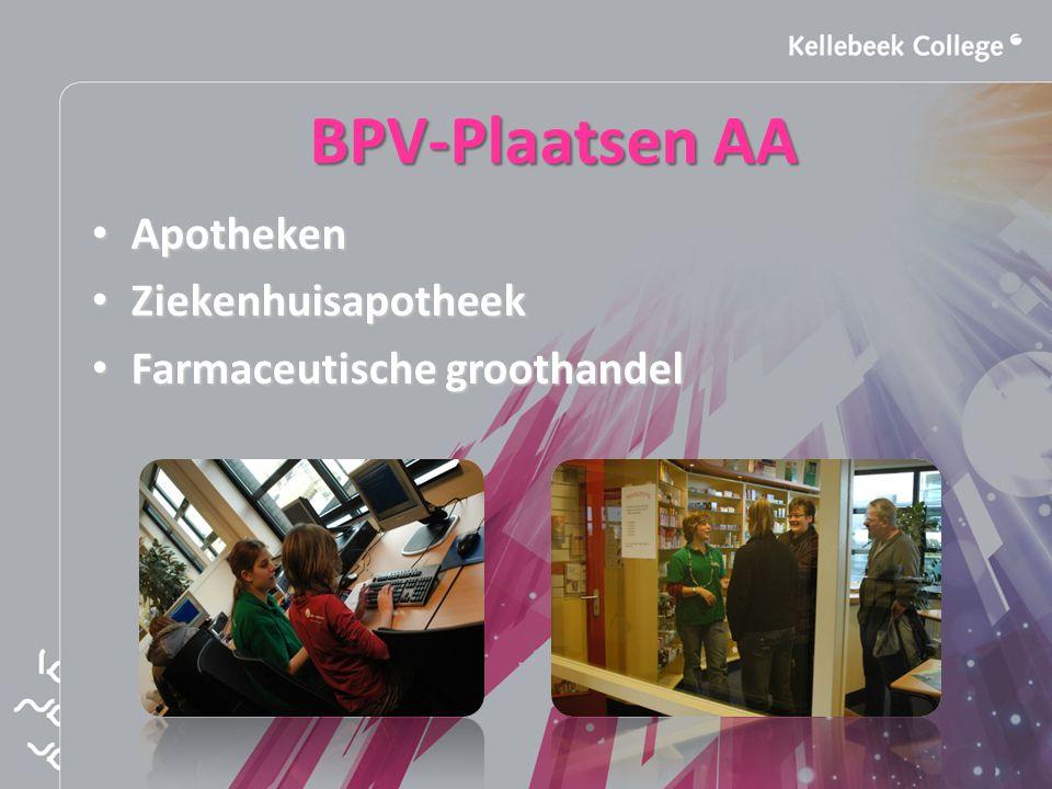 BPV-Plaatsen AA Apotheken Ziekenhuisapotheek