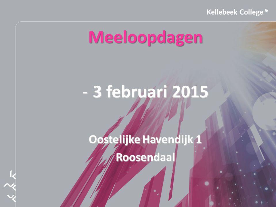 Meeloopdagen 3 februari 2015