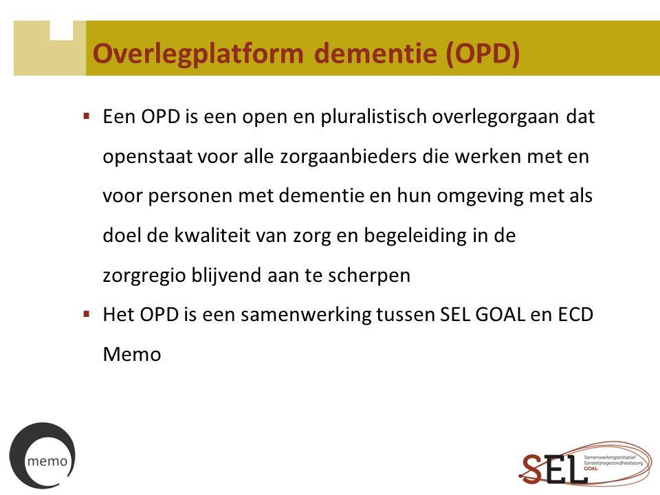 Overlegplatform dementie (OPD)