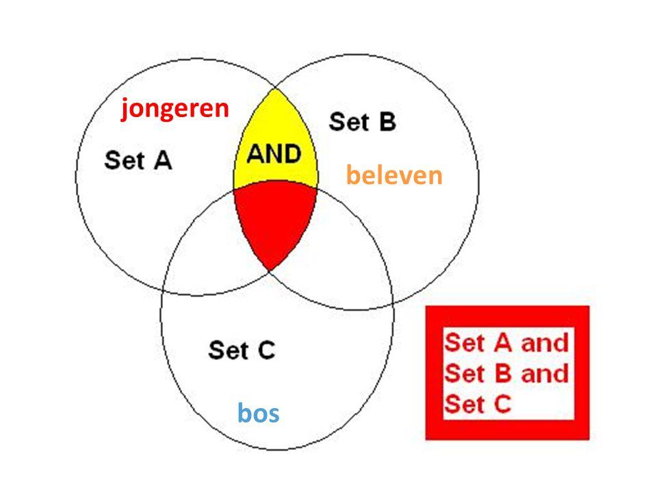 jongeren beleven bos Boolean operators-1