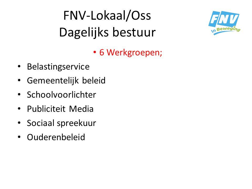 FNV-Lokaal/Oss Dagelijks bestuur