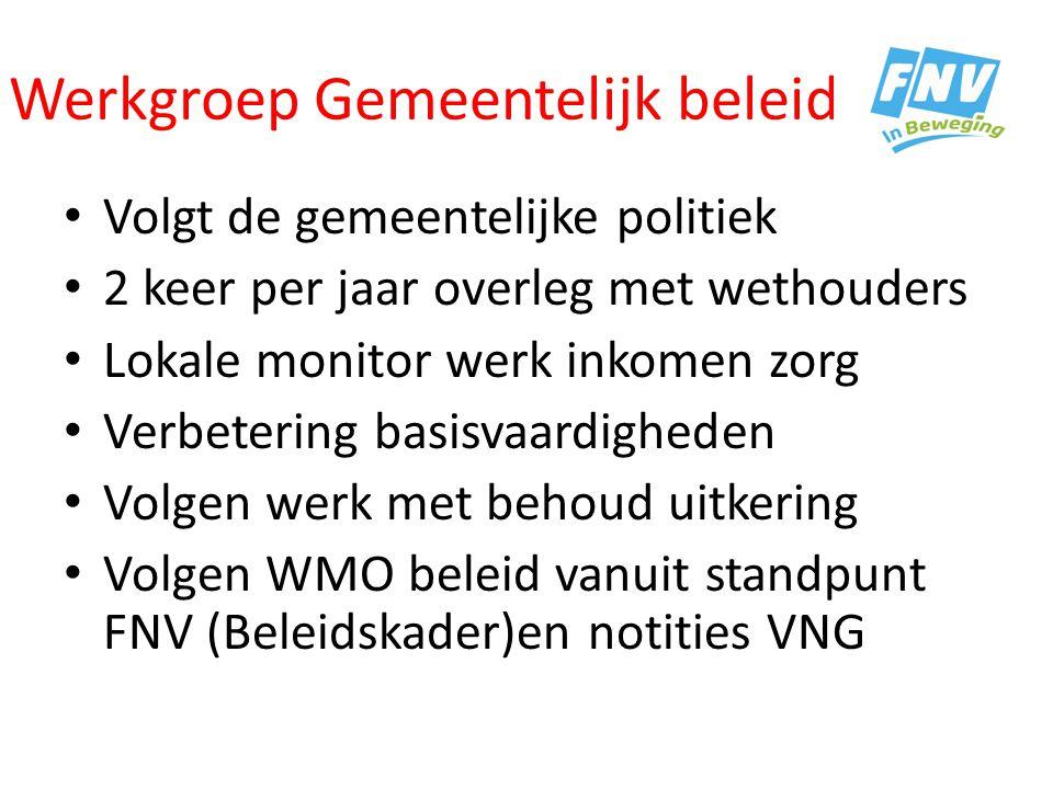Werkgroep Gemeentelijk beleid.