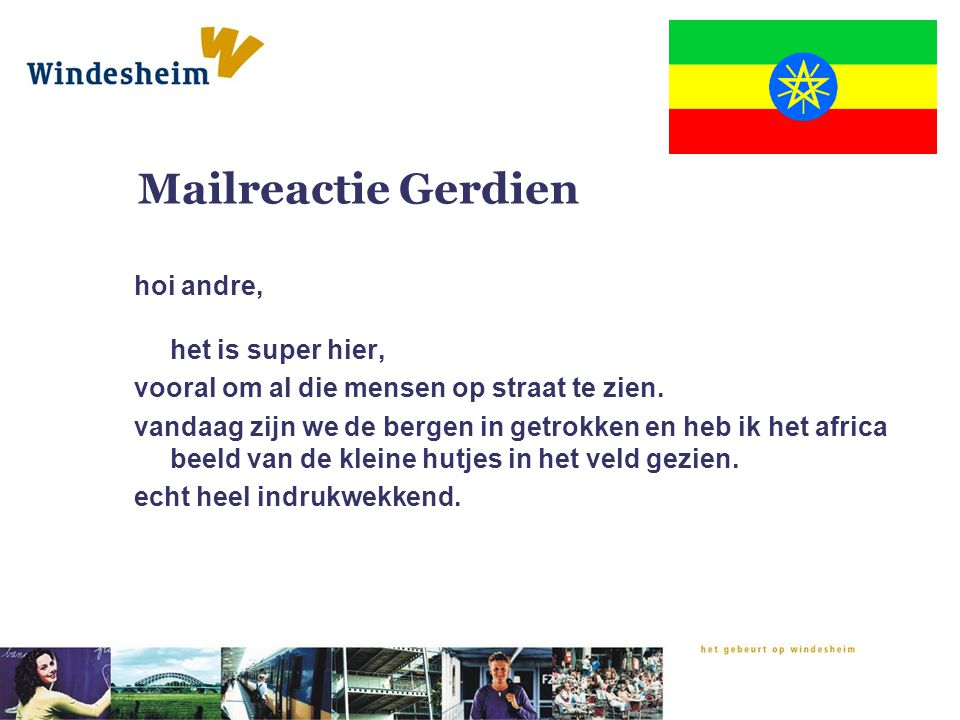 Mailreactie Gerdien