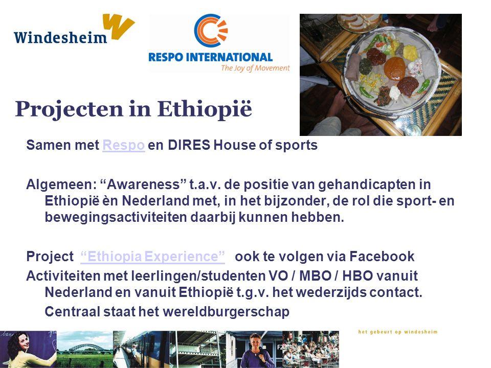 Projecten in Ethiopië