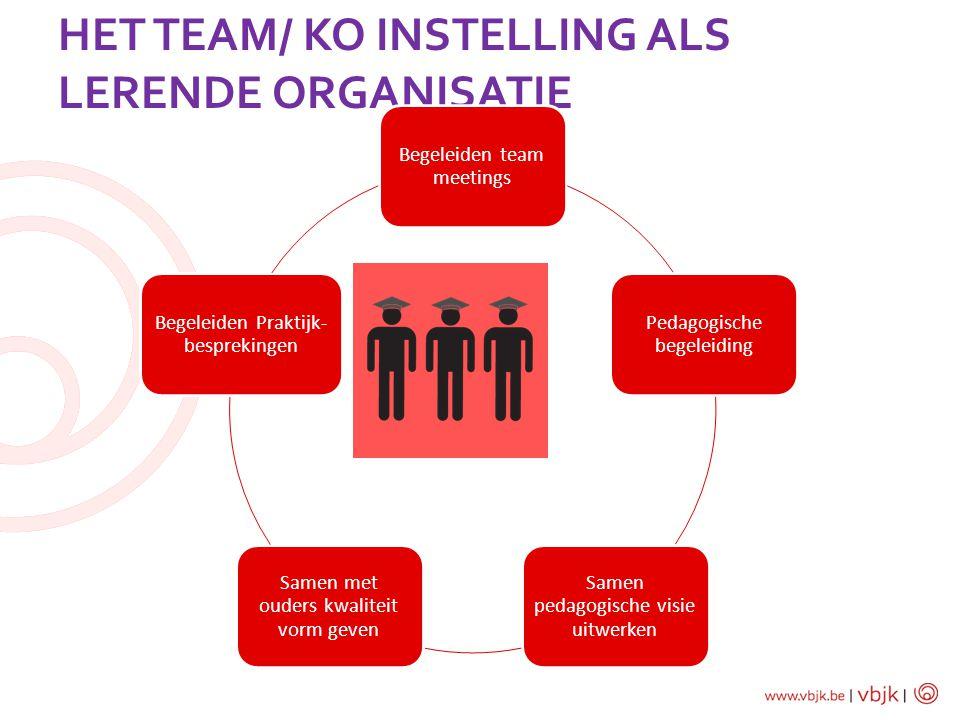 het Team/ KO instelling als lerende organisatie