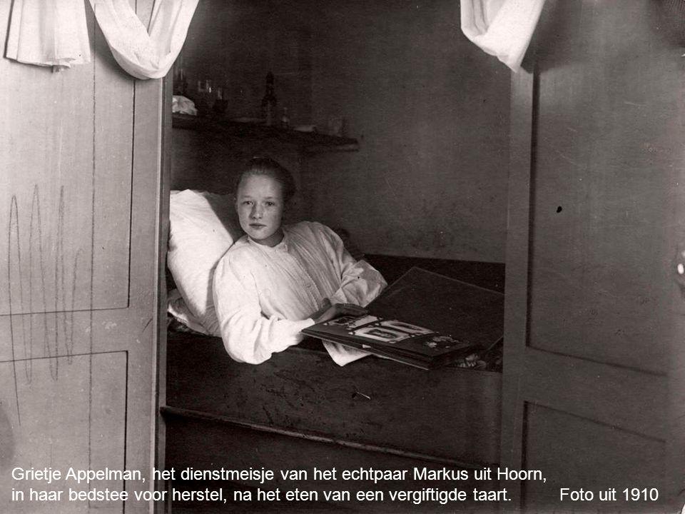 Grietje Appelman, het dienstmeisje van het echtpaar Markus uit Hoorn,