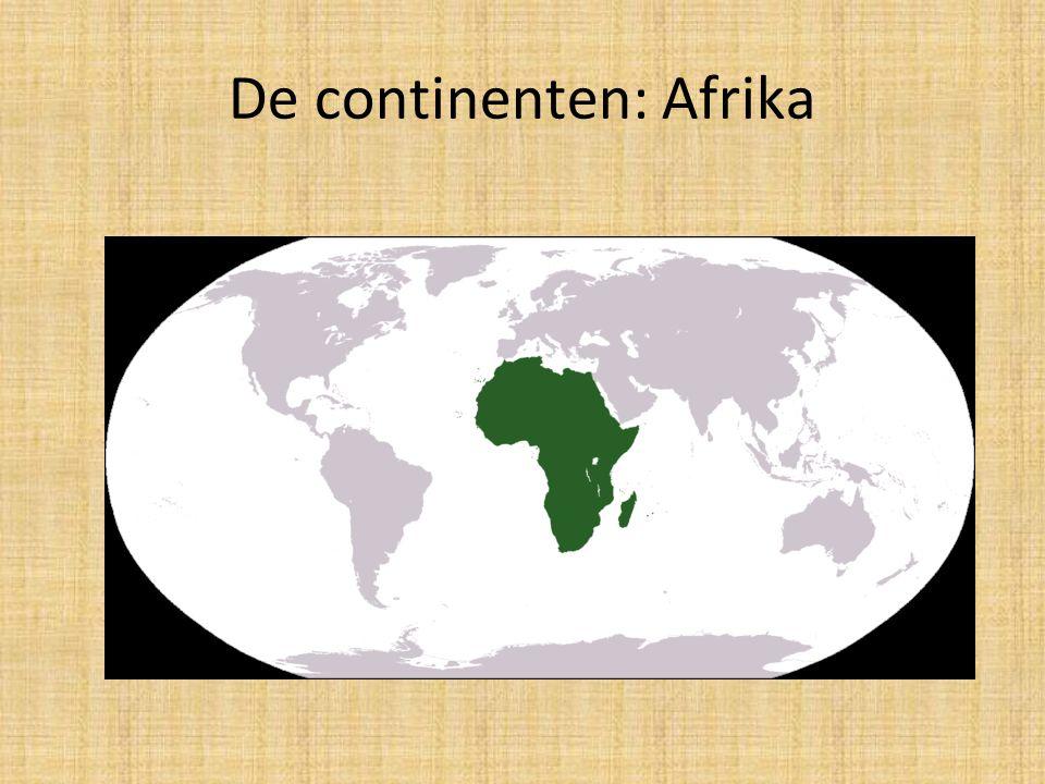 De continenten: Afrika