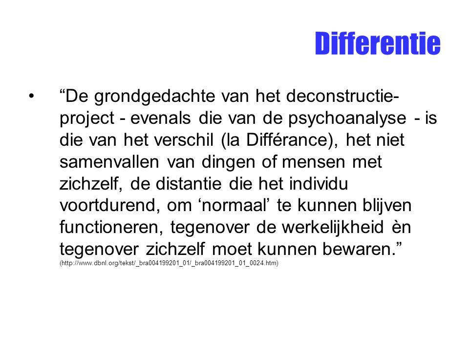 Differentie