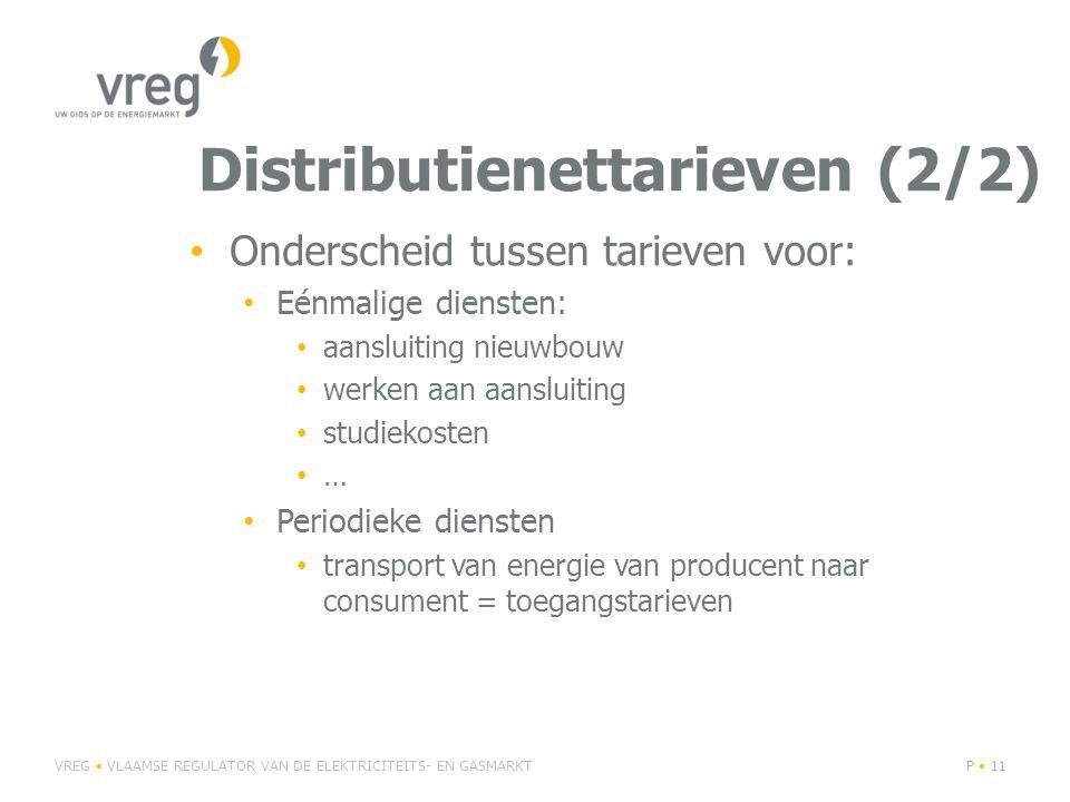 Distributienettarieven (2/2)