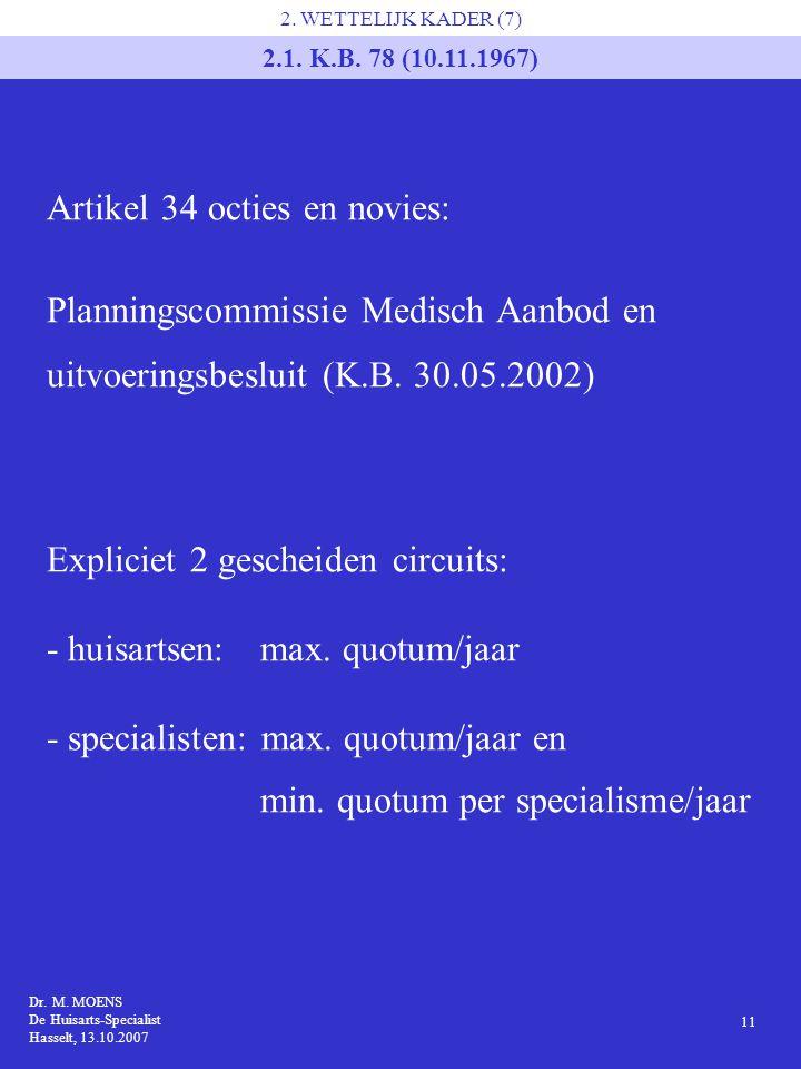 Artikel 34 octies en novies: