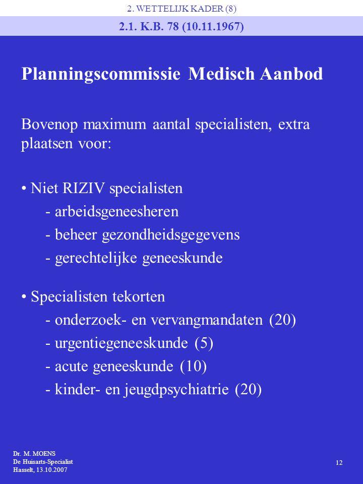 Planningscommissie Medisch Aanbod