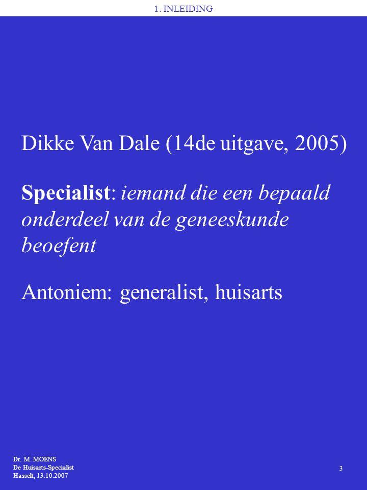 Dikke Van Dale (14de uitgave, 2005)