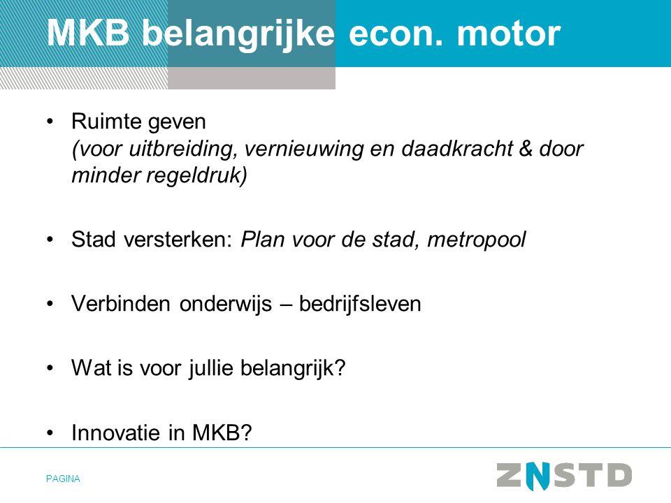 MKB belangrijke econ. motor