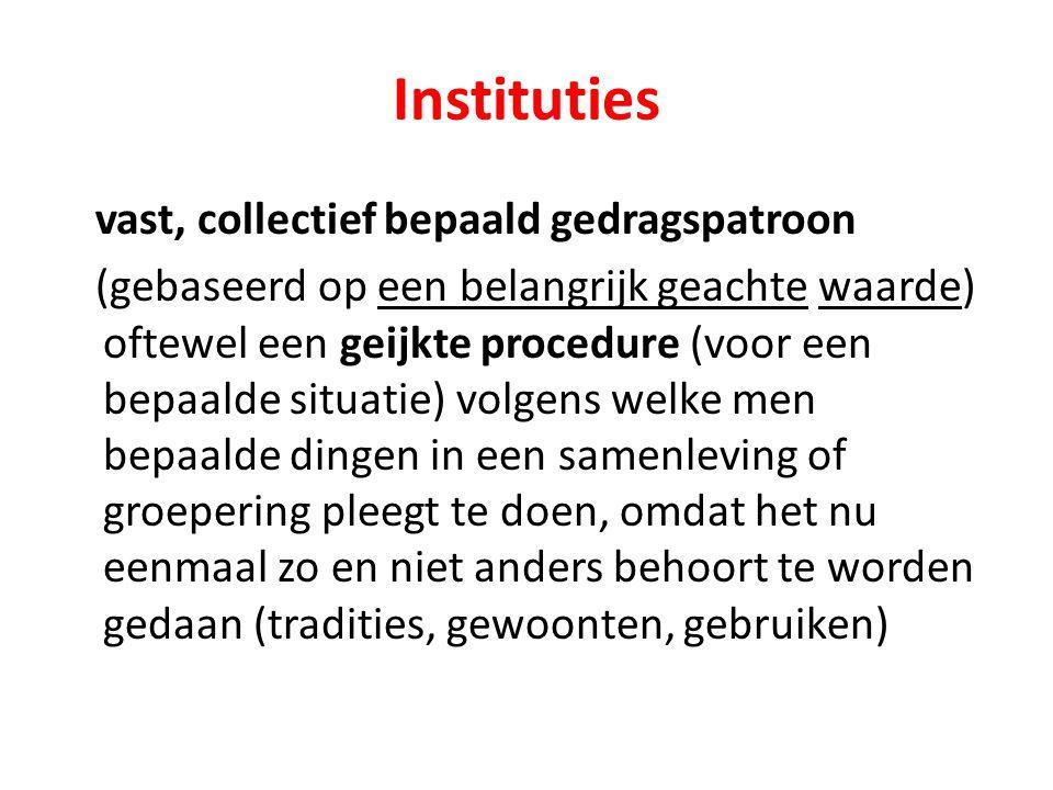Instituties