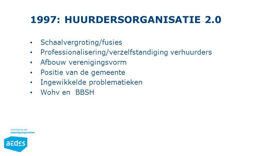 1997: HUURDERSORGANISATIE 2.0