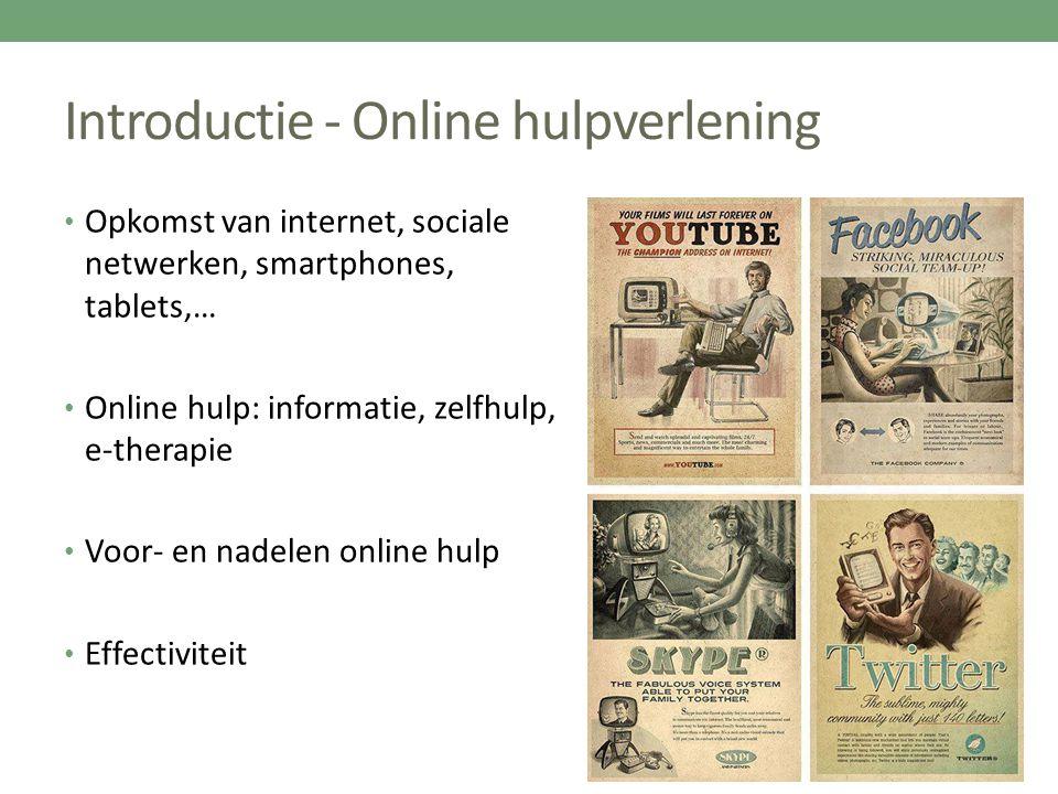 Introductie - Online hulpverlening
