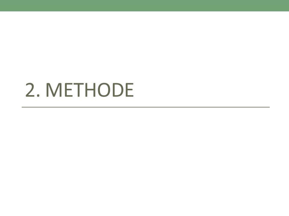 2. METHODE