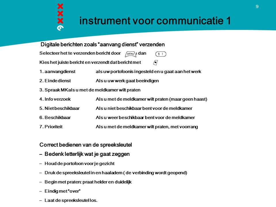 instrument voor communicatie 1