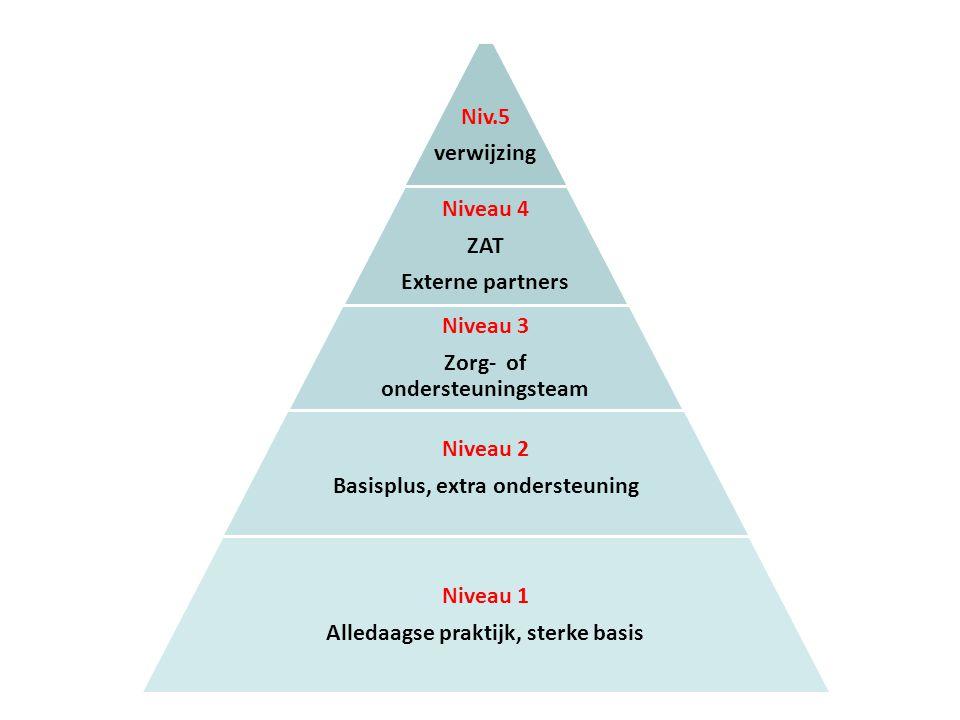 Zorg- of ondersteuningsteam Niveau 2 Basisplus, extra ondersteuning
