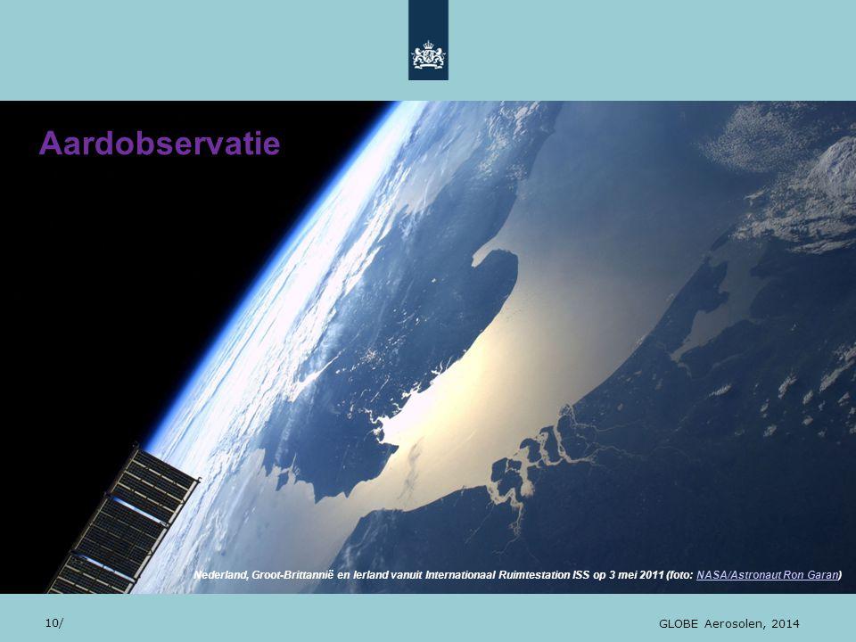 Aardobservatie 28/10/13 10 10/ GLOBE Aerosolen, 2014