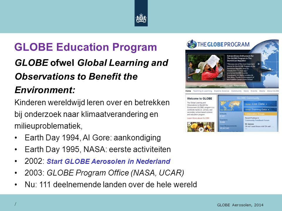GLOBE Education Program