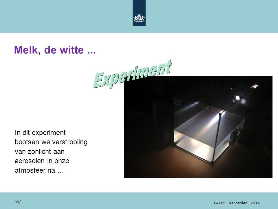 Experiment Melk, de witte ... In dit experiment