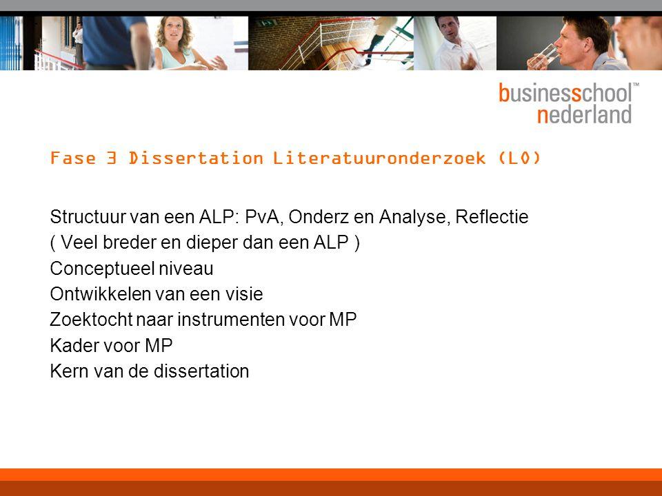 Fase 3 Dissertation Literatuuronderzoek (LO)