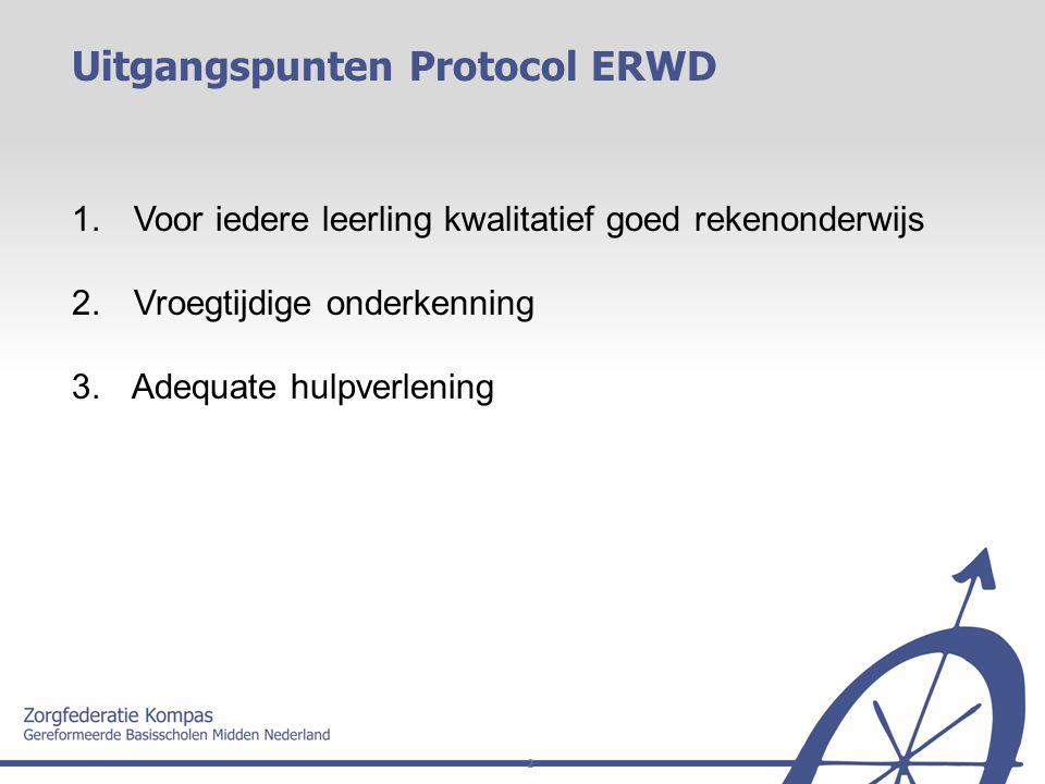 Uitgangspunten Protocol ERWD