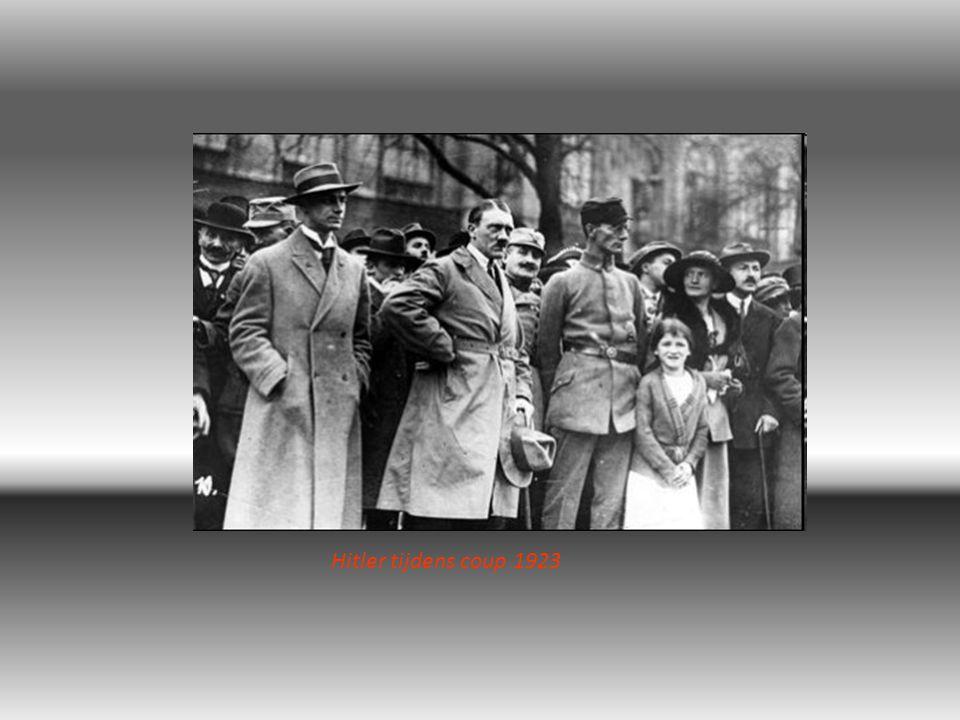 Hitler tijdens coup 1923