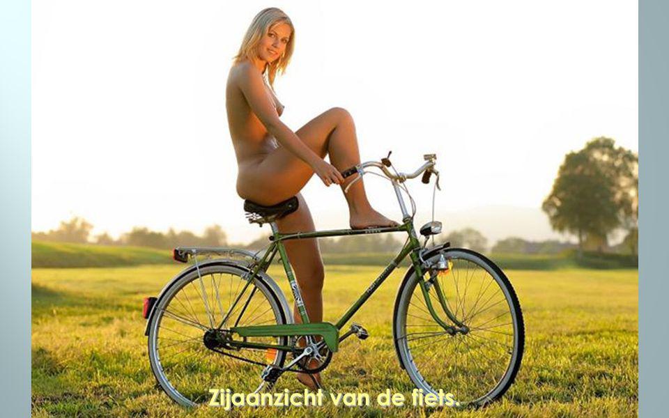 Zijaanzicht van de fiets.