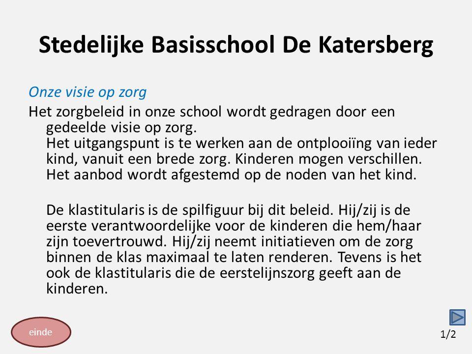 Stedelijke Basisschool De Katersberg